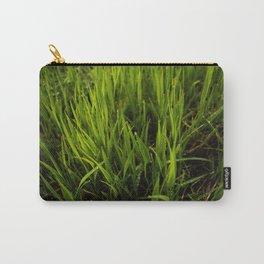 Green Grass Carry-All Pouch