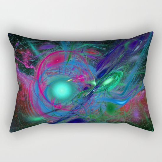 Emerging From Chaos Rectangular Pillow