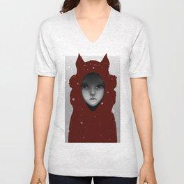 Crimson Hoods Unisex V-Neck