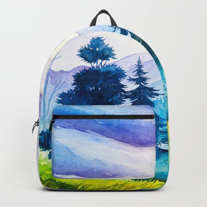 Autumn scenery #10 Backpack