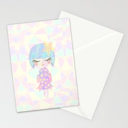 Starry Girl Stationery Cards