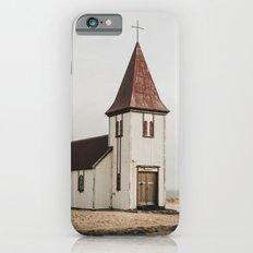 Hellnar Church, Iceland iPhone 6s Slim Case