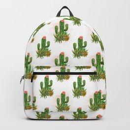 Cacti and succulents arrangement Backpack