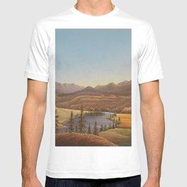 African American Masterpiece View of Lake Okanagan, British Columbia by Grafton Tyler Brown T-shirt