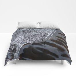 Poetic thaw of ice. Comforters
