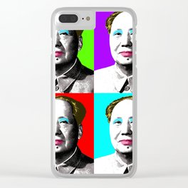 Marilyn Mao Clear iPhone Case