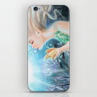 marine iPhone & iPod Skins featuring Marine by SydneySarah