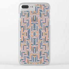 Herring Cream Clear iPhone Case