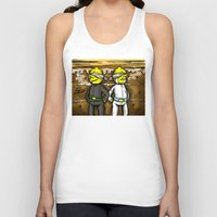 lemongrab Tank Tops featuring Gingerbread Execution - Lemongrabs by BlacksSideshow