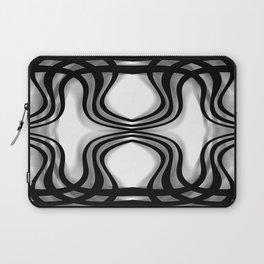Nobel Squiggly Lines Laptop Sleeve