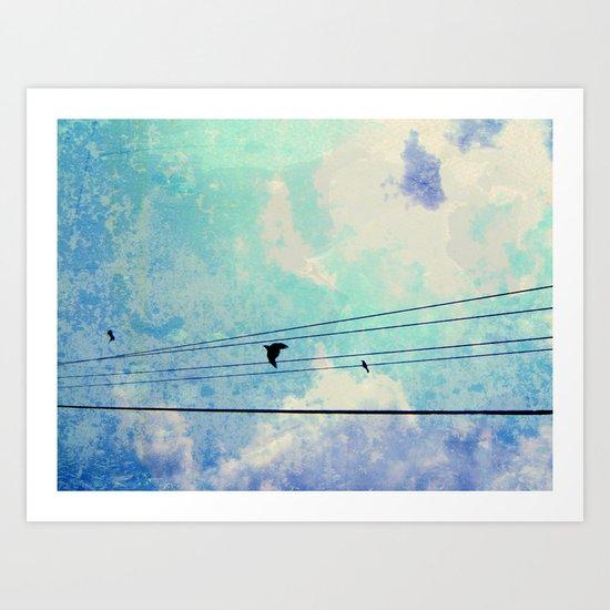 """Free as a Bird"" Art Print"