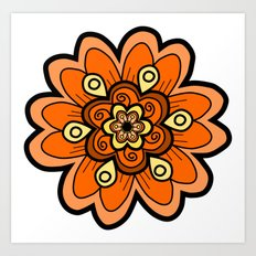 Flower 23 Art Print