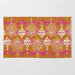 lotus diamond pink Rug