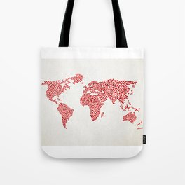 Love, You Are My World Tote Bag