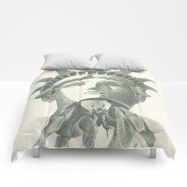 Tenants Within (Statue of Liberty) Comforters