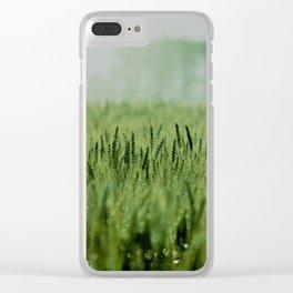 Crop Clear iPhone Case