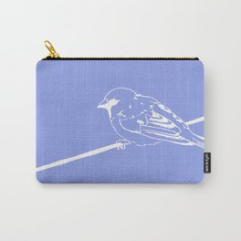 On a Blue Wire Carry-All Pouch