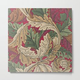 """William Morris """"Acanthus"""" 5. Metal Print"""