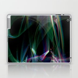 aurora borealis lightpainting Laptop & iPad Skin