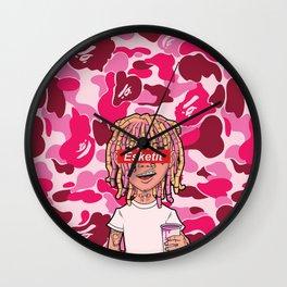 Lil Pump Esketit Bape Wall Clock