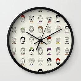 Random People Wall Clock