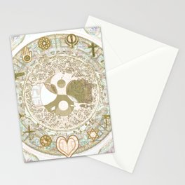 Let Love Be the Foundation Stationery Cards