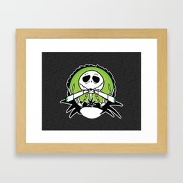 Jack's Two Joints Framed Art Print
