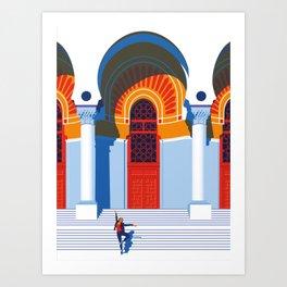 The Ballerina of Algiers Art Print