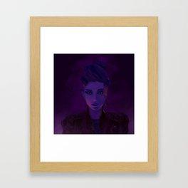 //ember Framed Art Print