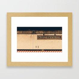 grubby grand... Framed Art Print