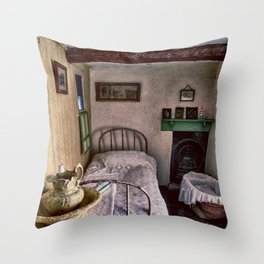 1930's Bedroom Throw Pillow