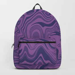 Two-toned purple Agate Backpack