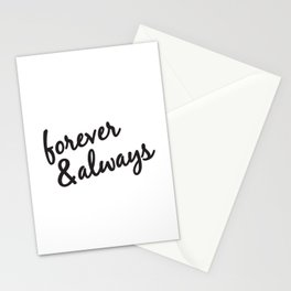 Forever and Always Stationery Cards