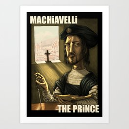 Machiavelli's The Prince Art Print