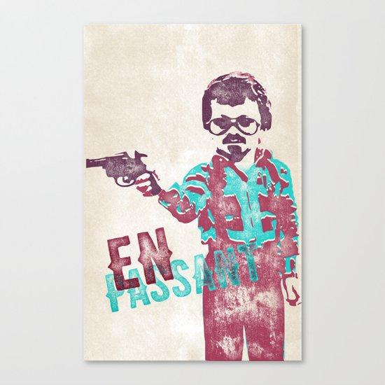 En Passant Poster Canvas Print