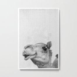 Camel Headshot Metal Print
