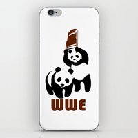 wwe iPhone & iPod Skins featuring Panda Wwe by Maxvtis