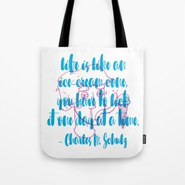 Ice-Cream Cone Tote Bag