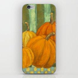 Five Pumpkins iPhone Skin