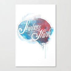 Thinkers Canvas Print