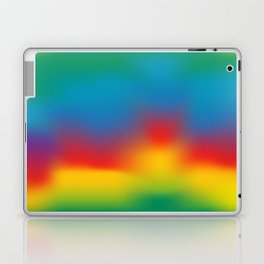 Abstract Colorful Aurora Laptop & iPad Skin