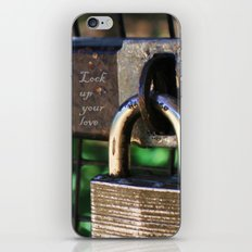 ~Lock Your Love Up and Throw Away the Key~ iPhone & iPod Skin