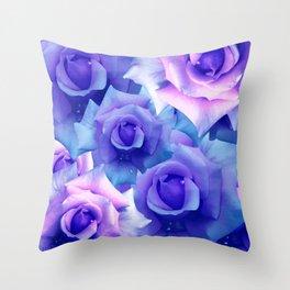 Bouquet de fleur Throw Pillow