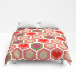 Heart Pattern 1 Comforters