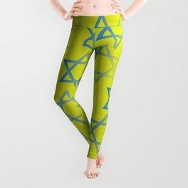 Jewish Stars Leggings