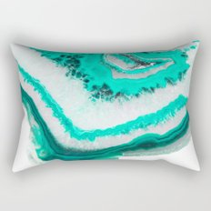 Mint Agate Rectangular Pillow
