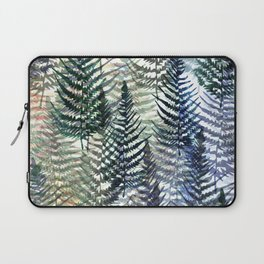Watercolour Ferns Laptop Sleeve