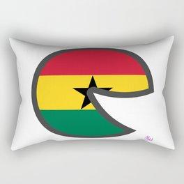 Ghana Smile  Rectangular Pillow