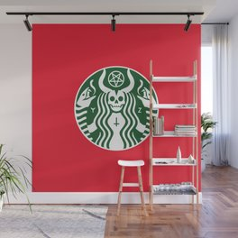 The Red Cup Of Doom Wall Mural