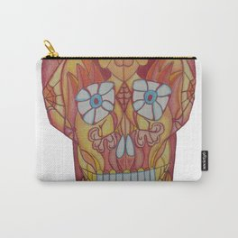 Brett Skull art2 Carry-All Pouch